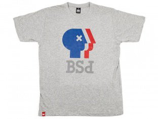 "BSD ""Public Broadcasting Service"" T-Shirt - Heather Grey"