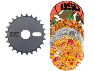 "BSD ""Sticker Bomb"" 2018 Sprocket"