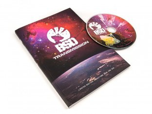 "BSD ""Transmission"" DVD Video + Book (Limited Edition)"