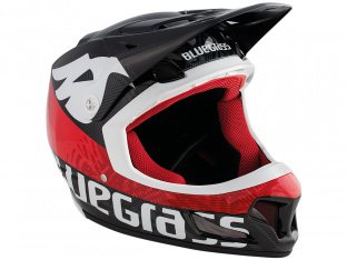 "Bluegrass ""Brave"" Fullface Helmet - Black/Red"