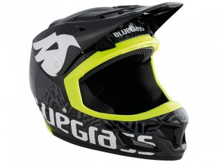 "Bluegrass ""Brave"" Fullface Helmet - Black/Yellow"