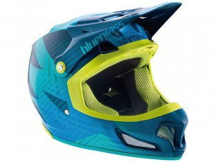"Bluegrass ""Brave"" Fullface Helmet - Blue/Green"