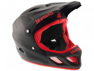 "Bluegrass ""Explicit"" Fullface Helmet - Black/Red"