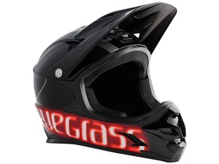 "Bluegrass ""Intox"" Fullface Helm - Black"