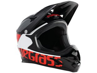 "Bluegrass ""Intox"" Fullface Helmet - Black/Red/White"