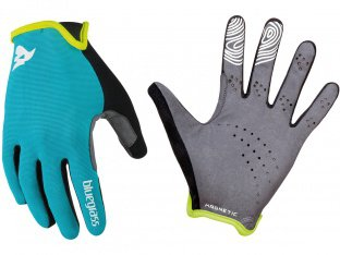 "Bluegrass ""Magnete Lite"" Gloves - Cyan/White"
