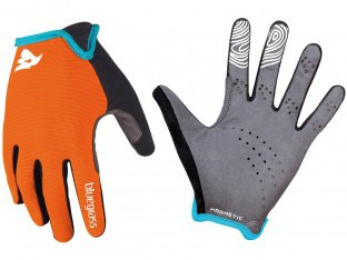 "Bluegrass ""Magnete Lite"" Gloves - Orange/White"