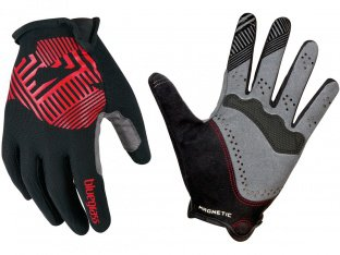 "Bluegrass ""Magnete Rock"" Gloves - Black/Red"