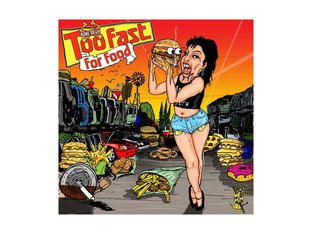 "Bone Deth ""Too Fast For Food"" DVD Video"