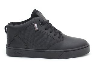 "Bone Deth X Fade Footwear ""Mid Top"" Shoes - Black"