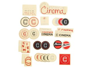 "Cinema Wheel Co. ""Assorted 2019"" Stickerset"
