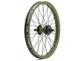 "Cinema Wheel Co. ""C38 X FX2"" Freecoaster Hinterrad - DAK Army Green"