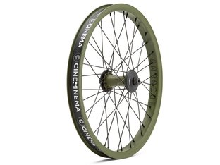 "Cinema Wheel Co. ""C38 X VX2"" Front Wheel - DAK Army Green"