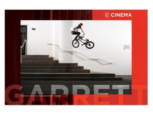 "Cinema Wheel Co. ""Garrett Reynolds"" Poster"