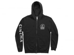 "Cinema Wheel Co. ""Step Up"" Hooded Zipper - Black"