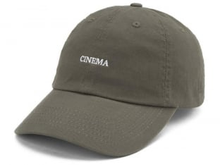 "Cinema Wheel Co. ""Tuned In Dad"" Cap - Olive"