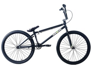 "Colony Bikes ""Eclipse 24"" 2020 BMX Cruiser Rad - Black Polished 