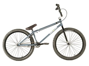 "Colony Bikes ""Eclipse 24"" 2021 BMX Cruiser Rad - Dark Grey / Polished 