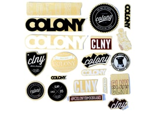 Colony Bikes Stickerset