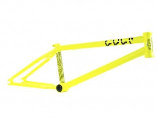 "Cult ""AK"" 2015 BMX Frame - Neon Yellow"