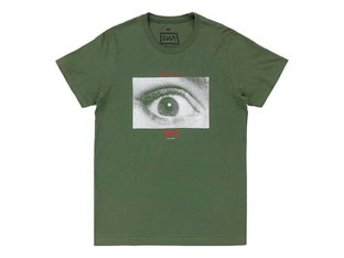 "Cult ""All Eyes"" T-Shirt - Green"