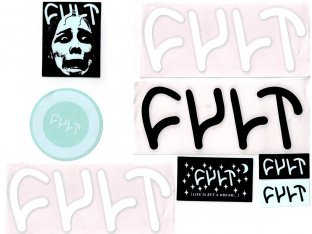 "Cult ""Assorted"" Stickerset"