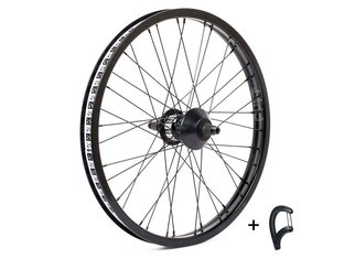 "Cult ""Crew Match"" Freecoaster Rear Wheel + Spoke Wrench"