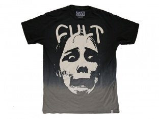 "Cult ""Dip Dye Face"" T-Shirt - Black"
