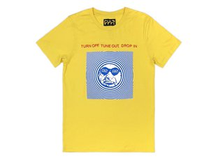 "Cult ""Drop In"" T-Shirt - Yellow"
