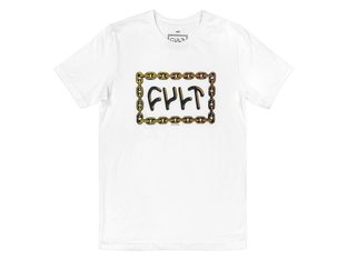 "Cult ""For Life"" T-Shirt - White"