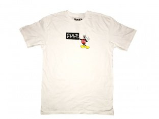 "Cult ""Hey You"" T-Shirt - White"