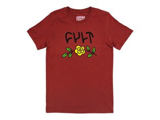 "Cult ""In Bloom"" T-Shirt - Rost Red"