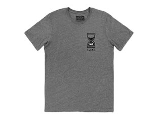 "Cult ""It's Later Than You Think"" T-Shirt - Grey"