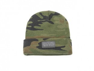 "Cult ""Leather Patch"" Beanie Mütze"