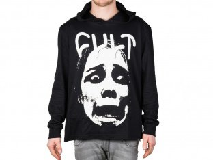 "Cult ""Lightweight Face"" Hooded Pullover"