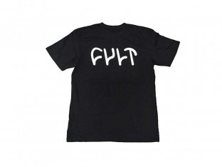 "Cult ""Logo Kids"" T-Shirt - Black"