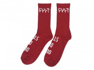 "Cult ""Logo"" Socks"
