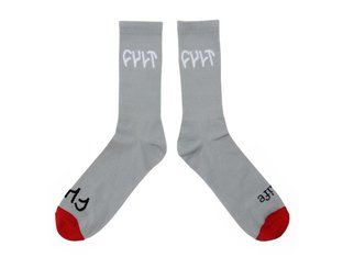 "Cult ""Logo"" Socks - Grey"