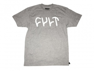 "Cult ""Logo"" T-Shirt - Heather Grey"