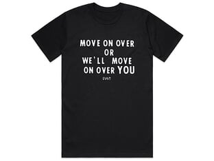 "Cult ""Move On Over"" T-Shirt"
