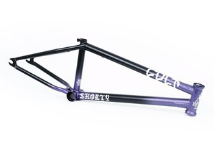 "Cult ""Richie Hernandez Shorty"" 2020 BMX Frame - Black/Purple"