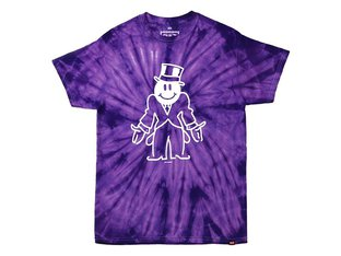 "Cult ""Richie"" T-Shirt - Purple Tye Dye"