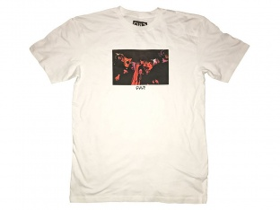 "Cult ""Scary Masks"" T-Shirt - White"