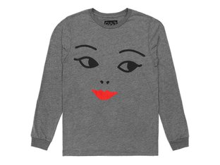 "Cult ""She Is So Cold"" Longsleeve - Heather Grey"