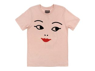 "Cult ""She's So Cold"" T-Shirt - Peach"