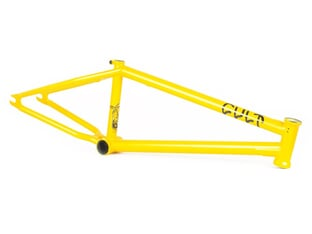 "Cult ""Shorty IC"" 2021 BMX Frame - Sean Ricany (Yellow)"