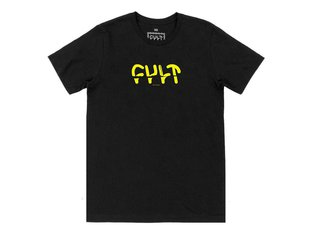 "Cult ""Sicko"" T-Shirt - Black"
