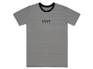 "Cult ""Stripe Logo"" T-Shirt"