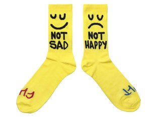 "Cult ""This Night"" Socks - Yellow"