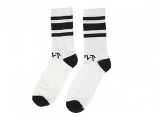"Cult ""Tube"" Socks - White"